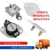 Fits For Whirlpool Duet Dryer Thermostat Fuses Free Shipping