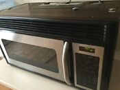 Ge Spacemaker Microwave Jvm1653 1 6cu Ft Over The Range