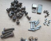 Vintage 1950 S Ge Stratoliner Stove Screws Assortment 60 Count