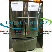 Lg Lfxs26973d 26 2cf Refrigerator French Door Smart Black Stainless Steel