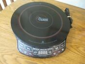 Nuwave Precision Induction Cooktop Electric Portable Black Model 30101