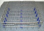 Lg Dishwasher Lower Rack Assembly Part With Blue Side Clips As Shown