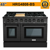 Thor 48 Gas Double Oven Stainless Convection Griddle 6 Burner Range Cooktop Us