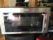 Kitchenaid Kmhc319ess 30 Stainless Over The Range Microwave 31104 Clw