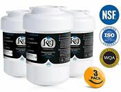 Ge Mwf Refrigerator Water Filter Replacement Upgrade For Nsf 42 Certified 3 Pack