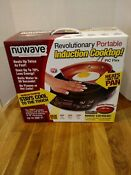 Nuwave Revolutionary Portable Induction Cooktop With 9 Fry Pan New
