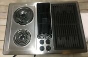 Jenn Air Jed8230ads 30 In Electric Cooktop Stainless Steel Used