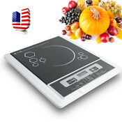 Usa Portable Electric Induction Cooker Stove Cooktop Burner Stainless Steel Pot
