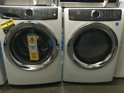 Electrolux Front Load Washer Machine Steam 4 3cu Washer And 8 0 Cu Gas Dryer4755