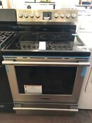 Frigidaire Pro 30 Stainless Steel Electric Glass Top Range