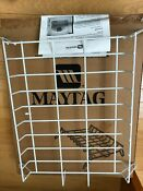 New In Box Maytag Laundry Drying Rack For Dryer Mal1000axx Metal Shelf