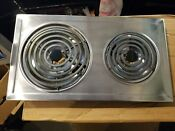 Jenn Air Jennair Designer Line Electric Coil Cooktop Stainless Jea7000ads