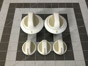 Kenmore Washer Dryer Combo Knobs P 134044501 131652401 131977101 131976901