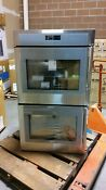 Thermador 30 Ss Masterpiece Deluxe Lh Side Swing Door Dbl Wall Oven Med302lws