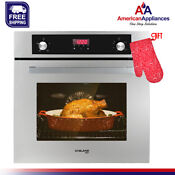 Gasland Chef Gs606ds 24 Built In Natural Gas Oven 6 Cooking Functions 120v
