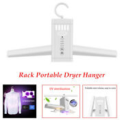 Clothes Drying Rack Portable Dryer Hanger Folding Laundry Shoes Touch Screen