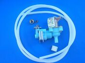 New Water Valve Whirlpool 120v 2210436 For 7 8 Cube Metal Mold Icemakers