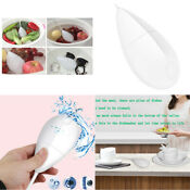 New Portable Ultrasonic Cleaner Mini Usb Washer Cleaner For Dishes Bowls White