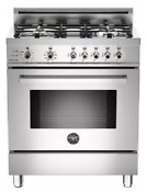 Bertazzoni 30 Professional Series Dual Fuel Range In Stainless Steel Pro304df