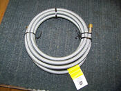 Ge Appliance Icemaker Braided Water Line Wx08x10012 New