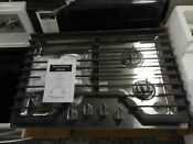 Whirlpool Wcg55us0hs00 30 Inch Gas Cooktop With Burners New