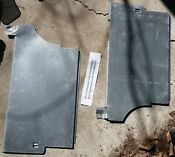 Bosch Dishwasher Left And Right Side Panels Part 661756 And 661757