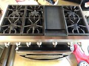 Thermador Professional 48 Stainless Range Top 6 Burner Griddle In Sacramento