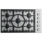 Fisher Paykel Dcs 36 Gas Cooktop Cdv2 365hl N