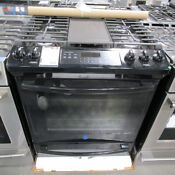 Ge 30 Black Slide In Gas Range With Convection Jgs760delbb