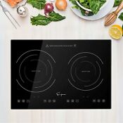 Empava 20 5 Double Elements Electric Stove 1800w Induction Cooktop With Two