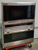 Wolf 36 L Series Oven And Wolf Microwave With Installation Trim Kit