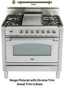 Ilve Nostalgie Upn90fvggix 36 Gas Range With 4 Sealed Burners In Stainless Steel