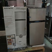 Frigidaire 4 5 Cu Ft Top Freezer Refrigerator Stainless Steel Ffps4533um