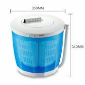 2 In 1 Portable Washer Spin Dryer Washing Machine Mini Travel Outdoor Brand New