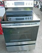 Ge Smooth Surface Convection Electric Range Stainless Steel 1362370