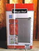 Magic Chef 3 3 Cu Ft Mini Refrigerator Stainless Steel Ships Free Same Day