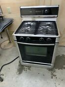 Bosch Gas Range Electric Convection Oven Freestanding 36 Inch Wide 400