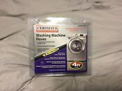Certified Appliance Accessories Washing Machine Water Supply Hoses