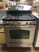 Ge Stainless Steel Gas Range