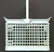 Ge Dishwasher Silverware Utensil Cutlery Basket With Handle Oem Wd28x265