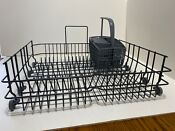 Clean Asko Dishwasher Lower Bottom Dish Rack For D3112 With Silverware Basket