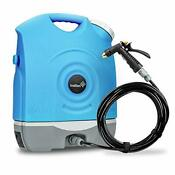 Multipurpose Portable Spray Washer W Water Tank Built In Rechargeable 2200