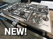 New Dacor Pro Gas Rangetop Cooktop Model Hpct365gs 5 Sealed Burners 36