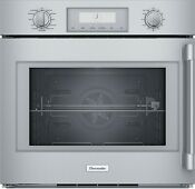 Thermador Ss 30 Pro Built In Left Side Swing Wall Oven Pod301lw