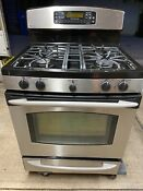 Ge Profile 30 Gas Range Electric Convection Oven Start Button Not Working