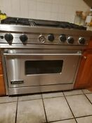 Viking Professional Range Viv600 36 Stainless Steel With Grill