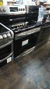 Frigidaire Gallery Stainless Steel Smooth Surface 5 Elements Self Cleaning Range