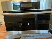 Miele Steam Oven Dg4080 24 Electric Single Convection Wall Built In Vegetables