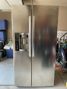 Lg Lsxs26326s 36 Inch Side By Side Refrigerator Stainless Steel