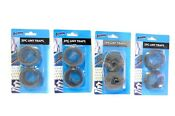 8 Lot Washing Machine Lint Traps Snare Filter Screens Aluminum Mesh W Clamps